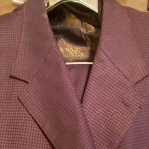 Brown Men Three Piece Suit